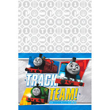 THOMAS All Aboard Friends PLASTIC TABLE COVER ~ Birthday Party Supplies Cloth