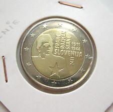 2 EURO SLOVENIE 2011 FRANC ROZMAN STANE COMMEMORATIVE NEUVE