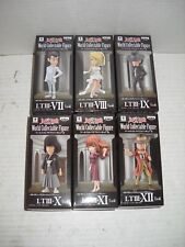 Banpresto WCF Lupin the Third Vol. 2 Full Set of 6 figures NEW GENUINE Wedding