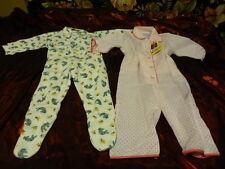 neuf !! pour bébé 1an ou gros poupon 45-50cm ====lot =2pyjamas
