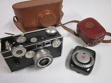 Argus Rangefinder Camera w General Electric GE Exposure Meter  1936   No. 404855