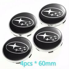 4pcs*60mm Subaru Forester Impreza Legacy Outback Tribeca wheel center Hub caps