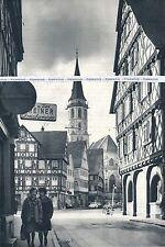 Schorndorf - Altstadt - Großformat! - um 1960 - selten!   N 28-12