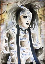 Asian Japan Visual Kei Punk Gothic Harajuku Street - 8x10 Signed Archival Print