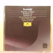 Stravinsky - Symphony of Psalms - Berlin Phil Karajan - CD Made in France by PDO