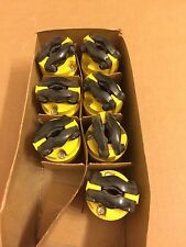 Lot of (7) Pass&Seymour 15A 250V 2 Pole 3 Wire Straight Blade Connectors 5669-Ss
