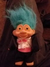 Trolls Turquoise Hair Black Pink And White Outfit No Gem