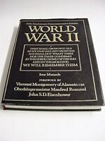 World War II: 50th Anniversary Commemorative Edition, Ivor Matanle Book The
