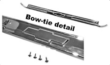 1967-1972 Chevy Door Scuff Plate W/ Bow tie Chevrolet