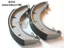 Norton 8 inch brake shoes bremsbacken FERODO 06-9135 06-7715 Atlas Dominator ES2
