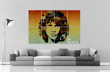 JIM MORRISON DOORS COLLAGE COLLECTOR Wall Art Poster Great format A0 Wide Print