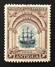 Antigua George V 1932 5/- Black & Chocolate M/m SG 90 (cat £120)