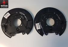 NEW GENUINE TOYOTA RAV-4 2000-2005 PAIR OF REAR PARKING BRAKE PLATES LH & RH