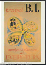 Shipping Postcard - Comfort & Pleasure, British India Steam Navigation Co  A8151