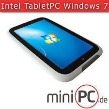 "Intel 7"" Pollici Tablet PC NOTEBOOK WINDOWS 7 (touch-screen, fotocamera 2x, WLAN, 32gb)"