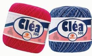Circulo CLEA 500 Crochet Cotton Knitting Thread Yarn 75g 500m Size #10