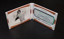2018 National Treasures # 2/35 Bobby Thompson Cut Signatures Booklet NY Giants
