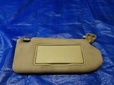 INFINITI G35 G37 G25 Q40 SEDAN RIGHT PASSENGER SIDE SUNVISOR SUN VISOR # 46112