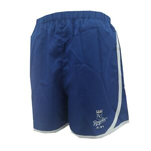 Kansas City Royals Official MLB Adidas Kids Youth Girls Size Athletic Shorts New