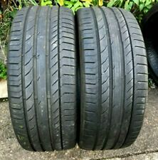 245 45 19 Continental ContiSportContact 5 SUV Tyres x2