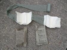 2 X NATO Emergency Bandage Kit First Aid Medical Supplies Genuine Army Surplus