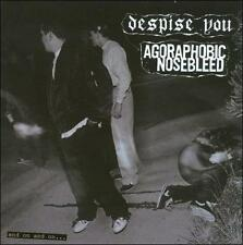 DESPISE YOU / AGORAPHOBIC NOSEBLEED And On And On CD Relapse spazz powerviolence