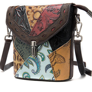 Multi Colour Genuine Italian Leather Designer Shoulder Bags Handbag Satchel Bag