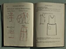 PROGRESSIVE NEEDLECRAFT & SIMPLE PATTERN MAKING Coton vintage 1920s sewing book