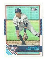 2017 Panini USA Dansby Swanson SP RC #/99 Longevity Holo Foil Braves Rookie