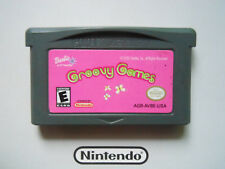 BARBIE GROOVY GAMES * NINTENDO GAMEBOY ADVANCE SP DS . 100% genuine games