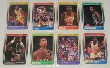 1988/89 Johnson/Kareem/Barkley/Drexler + more NBA Basketball Fleer 8-Card Lot NM