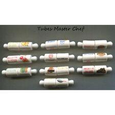 Série complète de 10 fèves Tubes Master Chef 2015