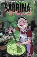 Sabrina Comic Issue 3 The Teenage Witch Limited Variant Modern Age 2019 Fish
