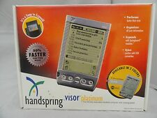 Handspring Visor Platinum 8MB Handheld PDA Palm Pilot NEW in Box ~ UsedHandhelds