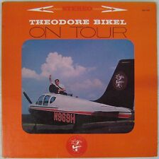 Pochette Avions 33 tours Theodore Bikel on Tour