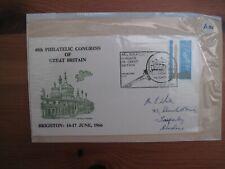 1966 GB 48th Philatelic Congress of Great Britain Brighton Cover