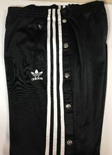 Vtg Adidas Track Pants Trefoil Tear Away Firebird Men's Small 90's Equipment