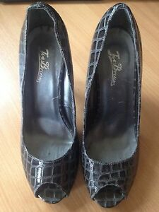 Joe Browns Ladies High Heeled Peep Toe Shoes Size 5. Great Condition.