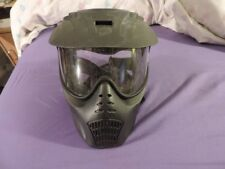 One Extreme Rage paintball mask black paint ball marker paintmarker goggles Xray