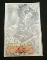 MARVEL COMICS SECRET WARS #1 GAMESTOP EXCLUSIVE GREG HORN FADE VARIANT THANOS