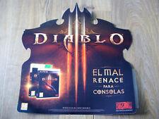 Diablo 3 III - Pegatina Pared - Nuevo, Sin Usar - 40 x 40 CM - PROMO VINYL