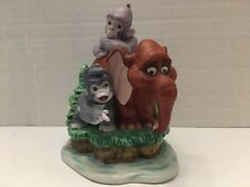 Rare Tarzan Burroughs & Disney Tantor the Elephant and Terk Figurine