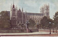 WESTMINSTER ABBEY. 1904 Vintage Postcard in Good Condition