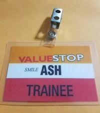 Ash vs Evil Dead ID Badge Valuestop Trainee Ash cosplay costume Army Darkness