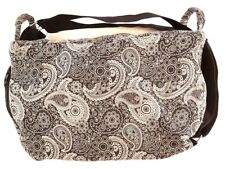 Black Backpack Bags Thai Cotton Design Hippie Hobo Unisex Handbags Shoulder Bag