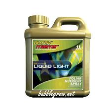 DUTCH MASTER GOLD LIQUID LIGHT 1L HYDROPONICS FOLIAR SPRAY FOR GROW & FLOWER