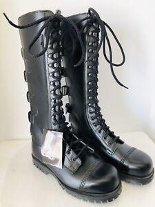 NWT Lip England Underground Men Boots Screwed Steel Cap SIze 5 Black
