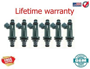 X6 OEM Denso Fuel Injectors TOYOTA Avalon  1998 - 2004 3.0 USA 23250-20020