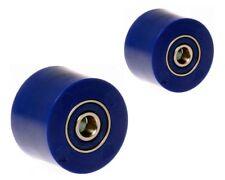 BLUE RFX CHAIN ROLLER SET UPPER & LOWER 32mm / 38mm YAMAHA YZ125 YZ250 02-18