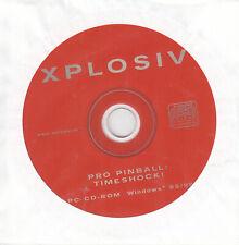 Pro Pinball Timeshock Xplosive PC CD-ROM nur in geschlossenen Hülle